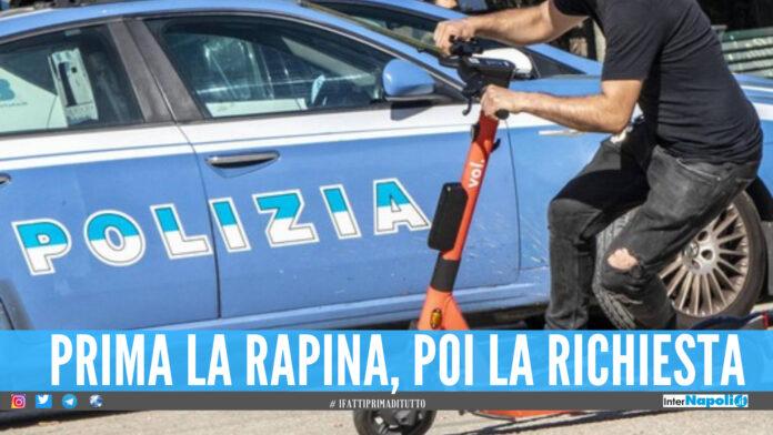 Il cavallo di ritorno ora si fa anche con il monopattino, 2 giovani arrestati a Napoli