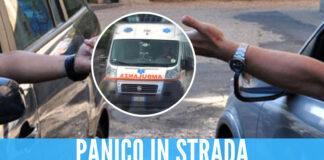 Lite nel traffico finisce nel sangue a Napoli, 36enne accoltella minorenne e colpisce l'ambulanza