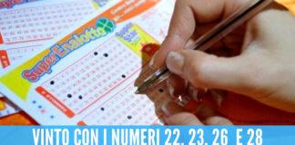 Vincita record al Lotto, vinti 1,3 milioni di euro grazie ad una quaterna