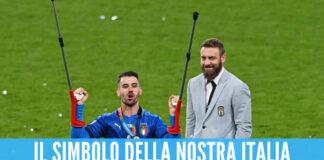 La favola di Spinazzola, festeggia a Wembley con le stampelle: il simbolo della forza con l'Italia