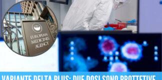 """Variante Delta l'Ema rassicura: """"due dosi delvaccinosono protettive..."""""""
