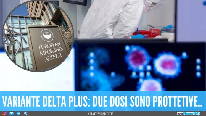 Variante Delta l'Ema rassicura: