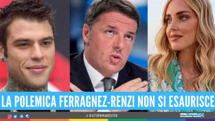Polemica Renzi-Ferragni, Fedez interviene in difesa della moglie