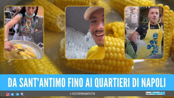 A Napoli e provincia scoppia la guerra delle pannocchie, su TikTok la sfida tra venditori