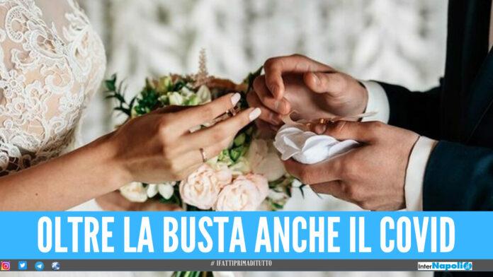 Focolaio Covid al matrimonio: 20 contagiati tra gli invitati