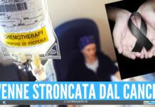 La Campania perde un'altra giovane figlia, Beatrice uccisa dal tumore a 17 anni