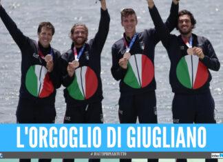 Anche Giugliano sul podio dell'Olimpiade di Tokyo, Giuseppe Vicino vince il bronzo nel canottaggio