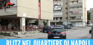 Carabinieri blindano Ponticelli, maxi operazione: 71 persone identificate