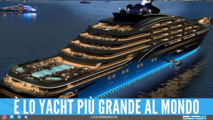 Somnio, lo yacht come un hotel a 7 stelle: piscine, cantina con 10mila bottiglie e 39 appartamenti