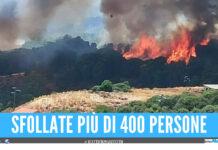Apocalisse di fuoco in Sardegna, abitazioni distrutte dalla fiamme e 10mila ettari in fumo