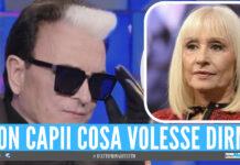 Cristiano Malgioglio e Raffaella Carrà