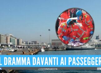 Tragedia al modo Beverello del porto di Napoli, dove un uomo ha perso la vita a seguito di un malore sull'aliscafo diretto all'isola di Ischia