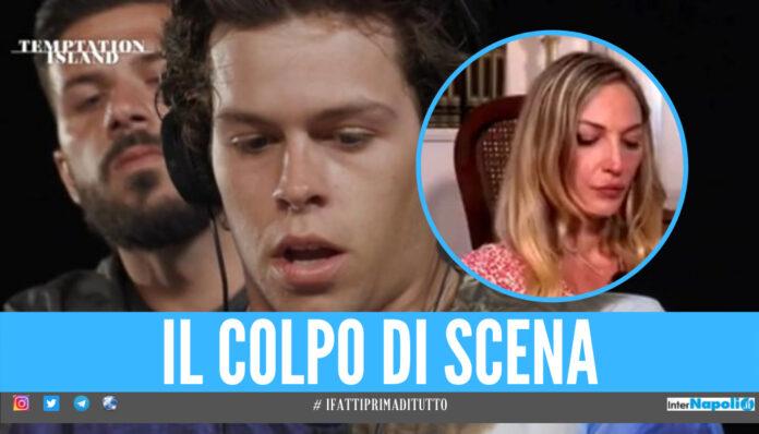 Temptation Island, Tommaso spiazza Valentina: «Devi assolutamente vedere, non si può aspettare»