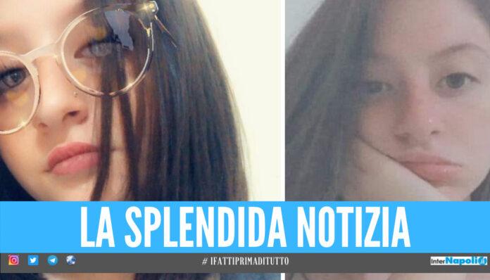 Napoli tira un sospiro di sollievo, la 15enne Annamaria è stata ritrovata