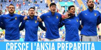 Stasera Belgio-Italia, Mancini cambia l'attacco: le probabili formazioni