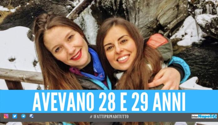 Martina Svilpo e Paola Viscardi, le sue giovani vittime della bufera sul Monte Rosa