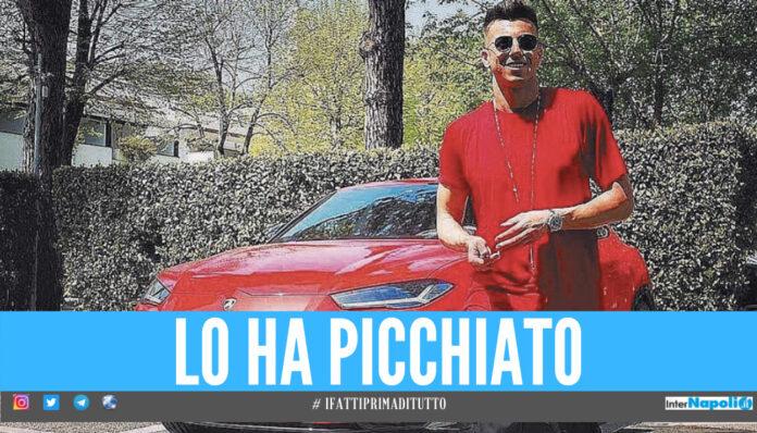 El Shaarawy e la sua Lamborghini