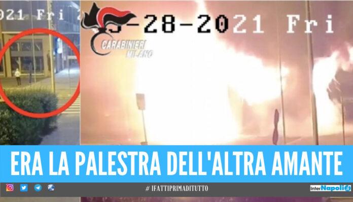 Follia a Milano, dentista incendia palazzo e palestra dell'ex amante con quella attuale