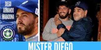 Diego Armando Maradona Jr nuovo allenatore della Napoli United