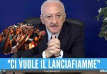 De Luca accusa la movida Finti controlli nei locali oggi 330 positivi
