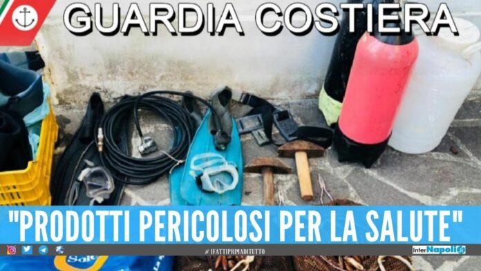 Disastro ambientale in Costiera Sorrentina, arrestati 17 'datterari'