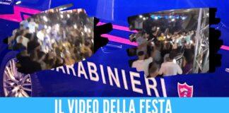 Festa in violazione delle norme Covid con Geolier, blitz dopo la denuncia di Selvaggia Lucarelli nel Salernitano
