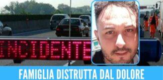 Malore durante il viaggio in autostrada, papà Ciro La Marca muore a 38 anni