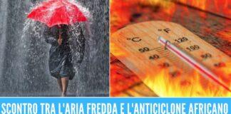 Meteo pazzo in Italia, penisola spaccata tra temporali e ondate di caldo