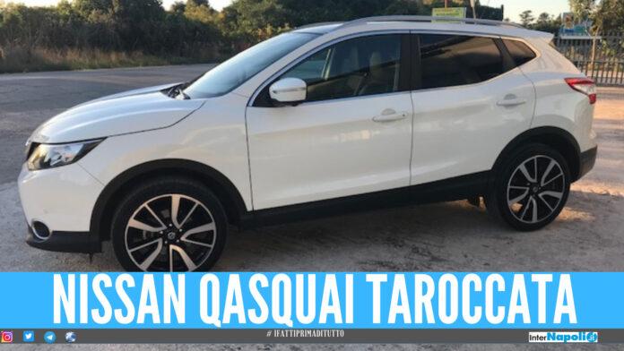 Nissan QasQuai taroccata, la scoperta a Giugliano della polizia dopo un controllo
