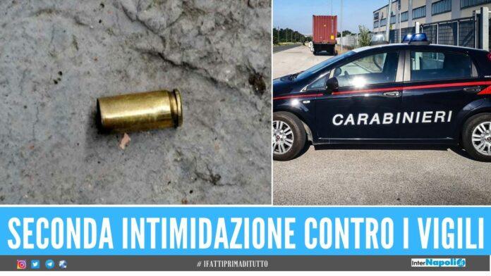 Raid contro il comando della Municipale di Acerra, esplosi 4 colpi di pistola