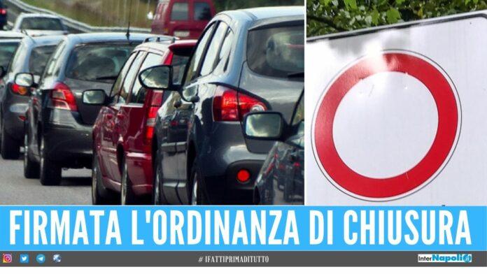 Rapporti omosessuali in auto, il Comune di Marcianise chiude la strada Creano ingorghi