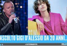 """""""Un cantante serio come Gigi D'Alessio non si tinge le unghie"""", l'attacco a Sangio"""
