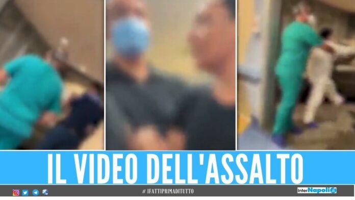 Spintoni e minacce all'ospedale di Napoli, urla al pronto soccorso Ti uccido
