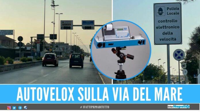 Tornano gli autovelox tra Ischitella e la Domiziana, multe agli 'spericolati'