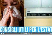 condizionatore Tosse, raffreddore e mal di gola in estate i rischi dell'uso del condizionatore
