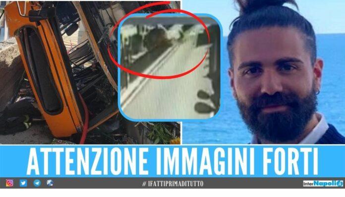 Tragedia a Capri, il video dell'incidente del bus guidato da Emanuele Mellillo