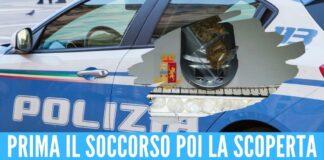 Viaggiavano con la cocaina in auto, beccati dopo l'incidente in Costiera Sorrentina