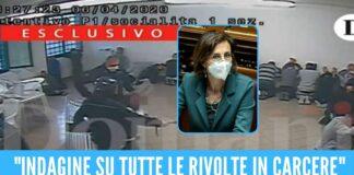 Violenza a freddo nel carcere di Santa Maria C.V., le parole della ministra della Giustizia