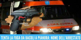 arresto bacoli napoli armato pistola pianura