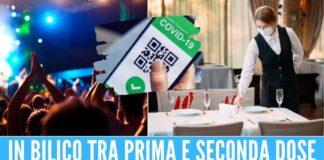 arriva il doppio Green Pass nuove regole per ristoranti, metro e discoteche