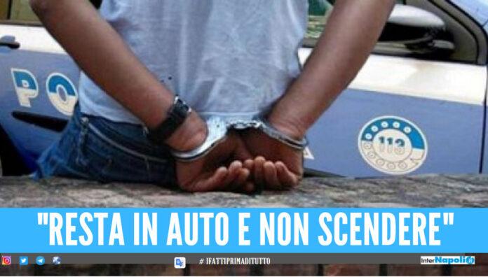 Rapina a Napoli