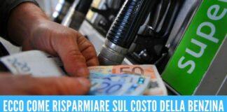 benzina app siti risparmiare