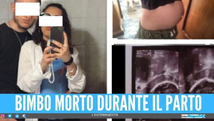 Il dramma di Antonio e Michel, il bimbo morto durante il parto a Pineta Grande: c'è l'inchiesta