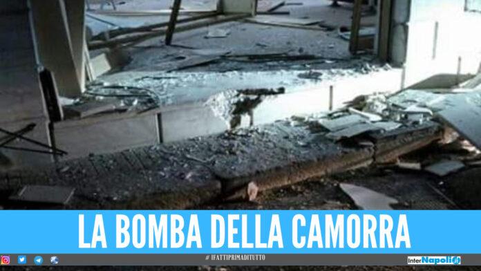 Bomba della camorra a Torre Annunziata
