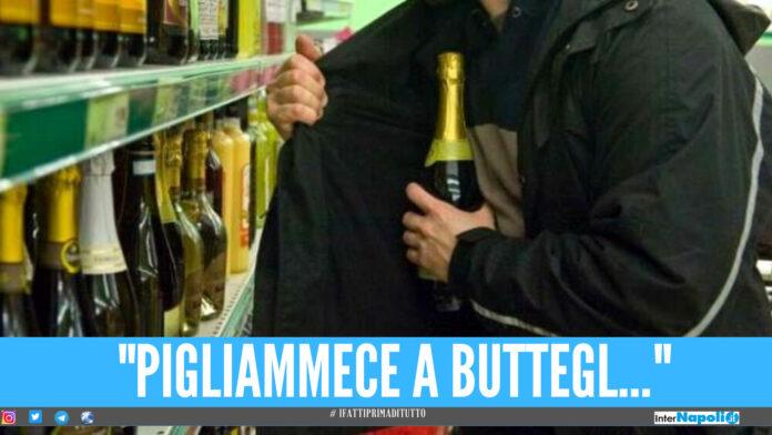 Presta l'auto al cognato, lui ruba lo spumante in Tangenziale a Napoli: scoperto dalle telecamere