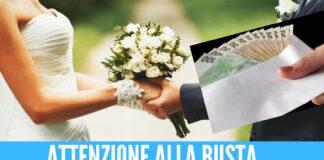 Busta matrimonio