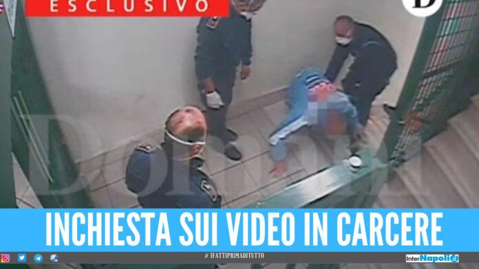 Pestaggi in carcere, inchiesta sulla diffusione dei video: