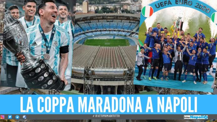 Copa Maradona Italia-Argentina a Napoli, arriva l'ok della Fifa