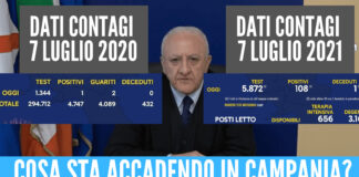 Report in Campania