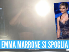 Emma Marrone come Sabrina Ferilli